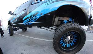 2012 Ford F-350 Super Duty Dual Rear Wheel with American Force Dually With Adapters Series 9 Liberty DRW