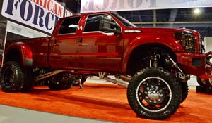 2013 Ford F-450 Super Duty Dual Rear Wheel with American Force Dually With Adapters Series H01 Contra DRW