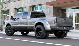 2014 Ford F-350 Super Duty Dual Rear Wheel with American Force Dually With Adapters Series 11 Independence DRW
