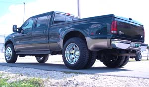 2005 Ford F-350 Super Duty Dual Rear Wheel with American Force Dually With Adapters Series 1 Classic DRW