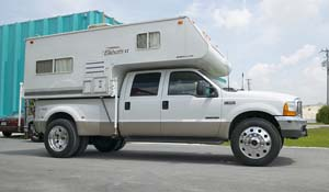 2004 Ford F-350 Super Duty Dual Rear Wheel with American Force Dually With Adapters Series 1 Classic DRW