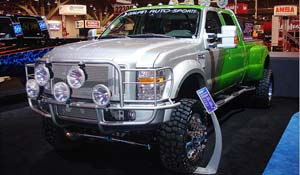 2008 Ford F-450 Super Duty Dual Rear Wheel with American Force Dually With Adapters Series 11 Independence DRW