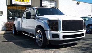 2011 Ford F-350 Super Duty Dual Rear Wheel with American Force Dually With Adapters Series 11 Independence DRW