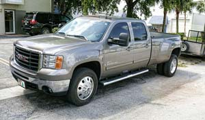 2008 GMC Sierra 3500 HD Dual Rear Wheel with American Force Dually With Adapters Series 1 Classic DRW