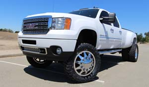 2012 GMC Denali HD Dual Rear Wheel with American Force Super Dually Series 611 Independence SD