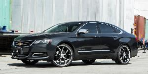 Chevrolet Impala with Asanti Black Label ABL-08 Elektra