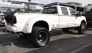 2012 Ford F-350 Super Duty Dual Rear Wheel with American Force Dually With Adapters Series 94 Baus DRW