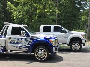 2013 Ford F-450 Super Duty Dual Rear Wheel Tow Truck with American Force Stars SD