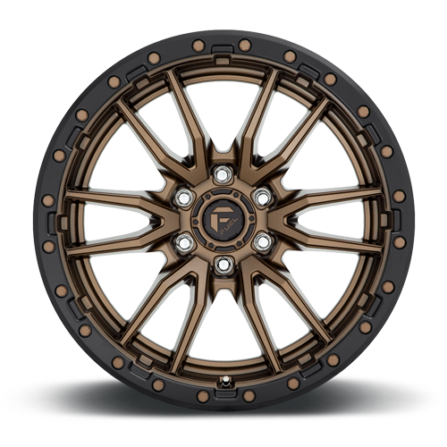 Fuel 1-Piece Wheels Rebel 6 - D681