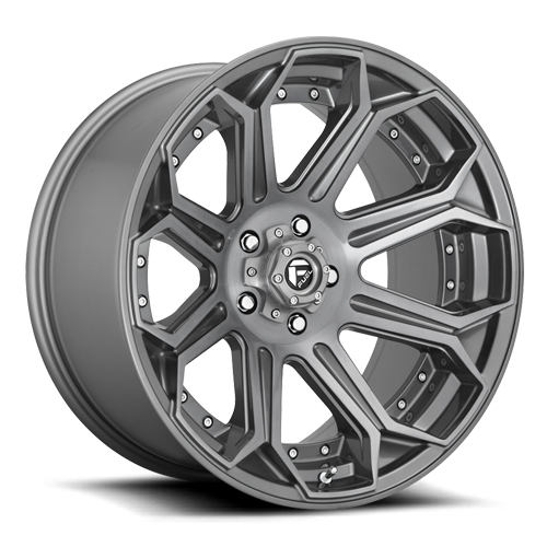 Fuel 1-Piece Wheels Siege - D705