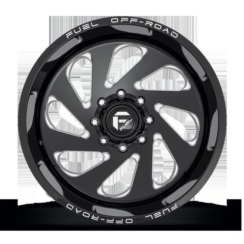 Fuel 1-Piece Wheels Vortex - D637
