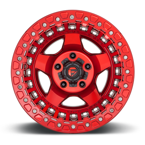 Fuel 1-Piece Wheels Warp Beadlock - D117