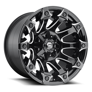 Fuel 1-Piece Wheels Battle Axe - D578
