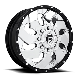 Fuel Dually Wheels Cleaver Dually Front - D240