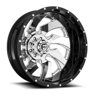 Fuel Dually Wheels Cleaver Dually Rear - D240