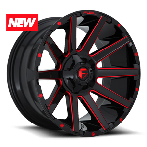 Fuel 1-Piece Wheels Contra - D643