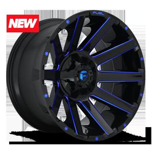 Fuel 1-Piece Wheels Contra - D644