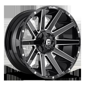 Fuel 1-Piece Wheels Contra - D615