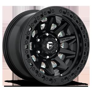Fuel 1-Piece Wheels Covert Beadlock - D114