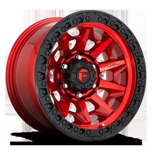 Fuel 1-Piece Wheels Covert - D695