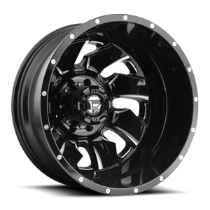 Fuel Dually Wheels Cleaver Dually Rear - D574