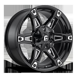 Fuel 1-Piece Wheels Dakar - D622