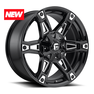 Fuel 1-Piece Wheels Dakar - D622
