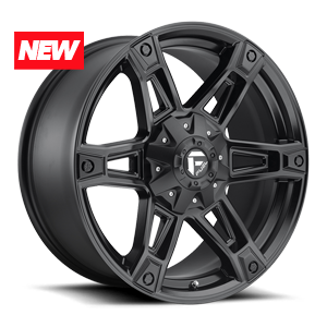 Fuel 1-Piece Wheels Dakar - D624