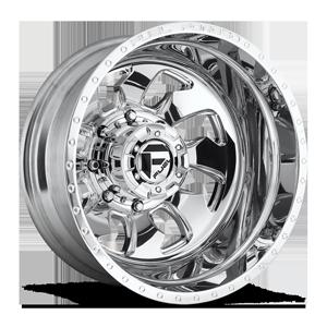 Fuel Dually Wheels FF52D - Rear