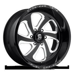 Fuel 1-Piece Wheels Flow 6 - D587