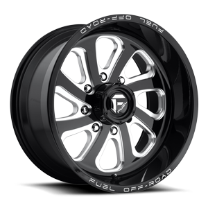 Fuel 1-Piece Wheels Flow 8 - D587