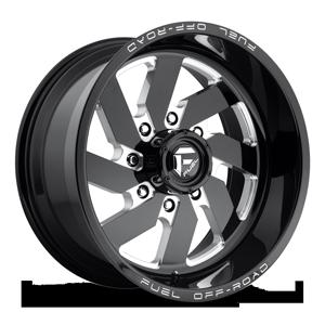Fuel 1-Piece Wheels Turbo 8 - D582