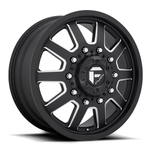 Fuel Dually Wheels FF09D - Front