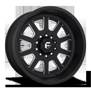 Fuel Dually Wheels FF09D - 10 Lug Super Single Front