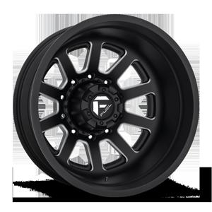 Fuel Dually Wheels FF09D - Rear