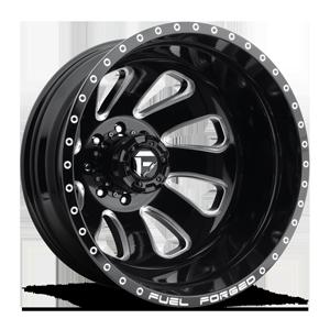 Fuel Dually Wheels FF12D - Rear