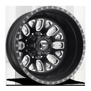 Fuel Dually Wheels FF19D - Rear