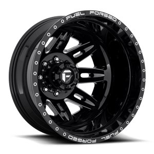 Fuel Dually Wheels FF26D - Rear
