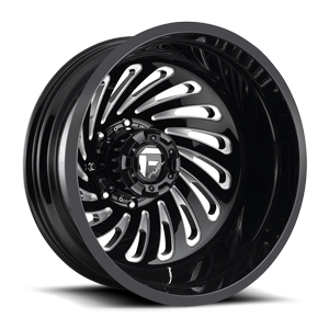 Fuel Dually Wheels FF28D - Rear
