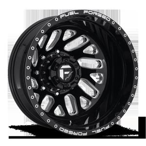Fuel Dually Wheels FF29D - Rear