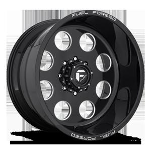 Fuel Dually Wheels FF31D 8 Lug Super Single Front