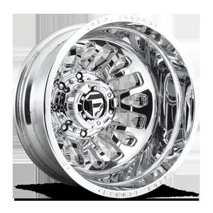 Fuel Dually Wheels FF45D - Rear