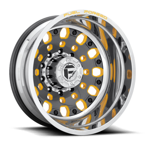 Fuel Dually Wheels FF48D - Rear
