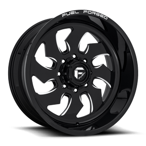 Fuel Dually Wheels FF52D - Super Single Front