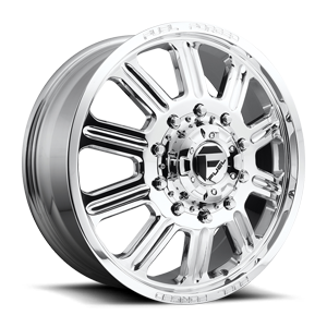 Fuel Dually Wheels FF60D - Front