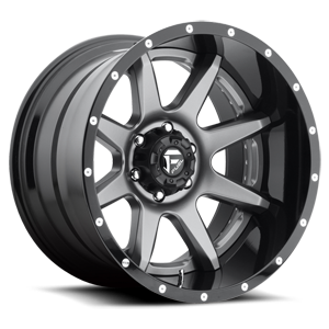 Fuel 2-Piece Wheels Rampage - D238