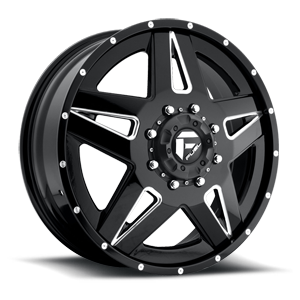 Fuel Dually Wheels Full Blown Dually Front - D254
