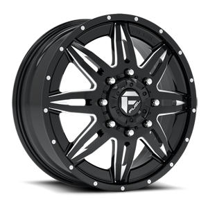 Fuel Dually Wheels Lethal Dually Front - D267