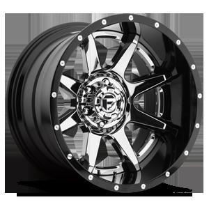 Fuel 2-Piece Wheels Rampage - D247