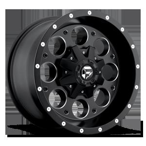 Fuel 1-Piece Wheels Revolver - D525